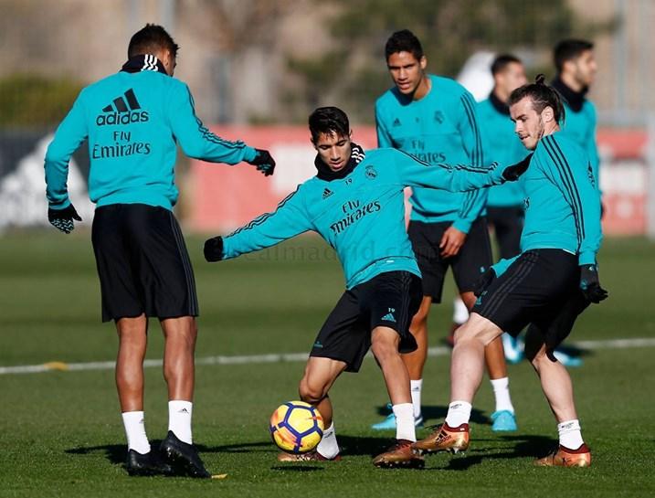 Ronaldo já esteve no relvado e adeptos do Real Madrid suspiram de alívio