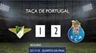 O resumo do Moreirense-FC Porto (1-2)