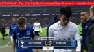 Alerta de míssil no Havai interrompeu transmissão do Tottenham-Everton