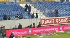 Adeptos do FC Porto ainda voltaram à bancada... mas tiveram uma surpresa