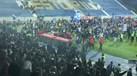 Adeptos portistas aproveitaram para cantar a Pinto da Costa no relvado