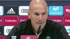 Zidane tenta fugir ao tema Neymar e acaba por elogiar o brasileiro