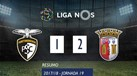 O resumo do Portimonense-Sp. Braga (1-2)