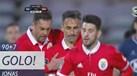 Jonas salva Benfica da derrota com golaço de livre