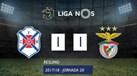 O resumo do Belenenses-Benfica (1-1): golos, casos e principais lances