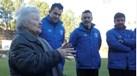 Vizela surpreende idosa proibida pelos médicos de ir aos jogos do clube