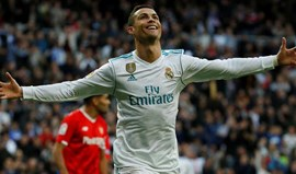 Ronaldo e Real Madrid dominam onze de 2017 do 'L'Équipe'