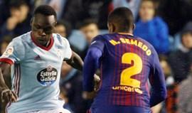Barcelona empata em Vigo