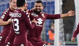 Torino usou Rincón frente ao Bolonha e agora tem de pagar mais 6 milhões à Juventus