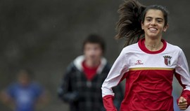 Mariana Machado foi segunda na prova de juniores do Crosse de Edimburgo