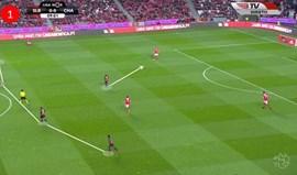 O Benfica-Chaves visto à lupa: variação ofensiva desequilibrou