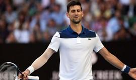 Djokovic afastado nos oitavos de final pelo sul-coreano Chung