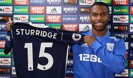 Liverpool empresta Sturridge ao WBA