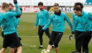 Ronaldo e companhia preparam ida a Vigo