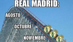 Nem Cristiano Ronaldo escapa aos memes sobre a crise do Real Madrid