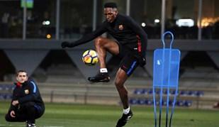 Yerry Mina já trabalha às ordens de Valverde