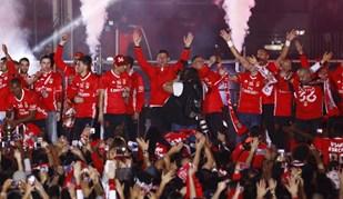 Em ranking de milhões, Benfica dá um chega para lá a colossos europeus