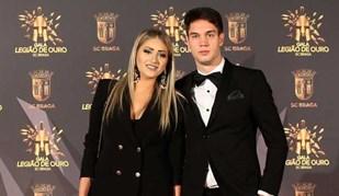 Jogadores do Sp. Braga bem acompanhados na Gala do clube