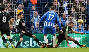 Brighton e Bournemouth empataram no primeiro jogo do ano da Premier League