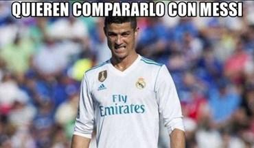 Ronaldo apagado deu para tudo e mais alguma coisa nos 'memes'