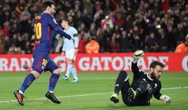 Barcelona avança na Taça do Rei com bis de Messi