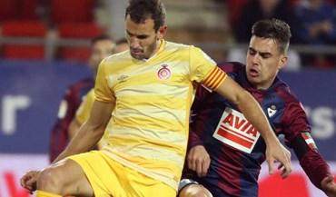 Stuani sofreu traumatismo cranioencefálico durante o jogo com o Las Palmas