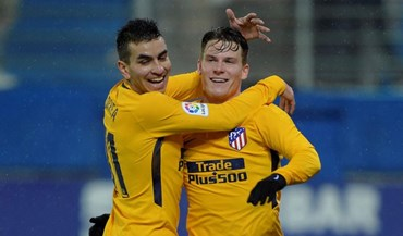 Atlético Madrid regressa aos triunfos fora de casa