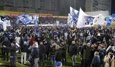 Estoril-FC Porto: a fuga dos adeptos portistas, a vistoria à bancada e os danos estruturais