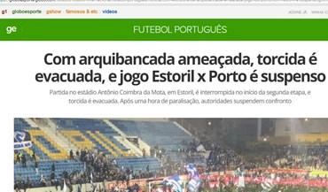 Bancada do Estoril é notícia até do outro lado do Atlântico