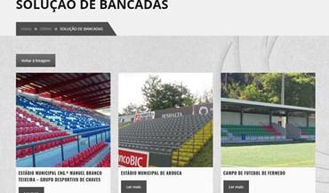 Bancada do Estoril: Construtora foi responsável por outros três estádios da Liga NOS
