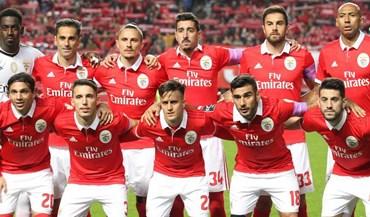 Benfica supera gigantes europeus no campeonato das camisolas mais caras