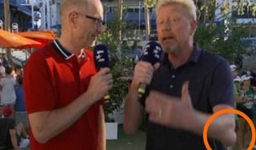 Alemães não se calam com cotovelo de Boris Becker: afinal, o que se passa?