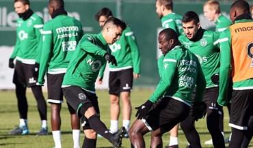 Foi assim o primeiro treino de Montero no regresso ao Sporting