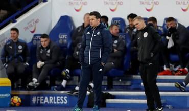 O desalento de Marco Silva no último jogo à frente do Watford