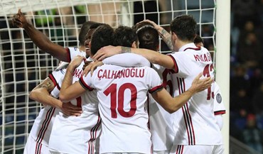 Milan vence no reduto do Cagliari