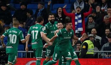 A festa do Leganés no Bernabéu após eliminar o Real Madrid da Taça do Rei