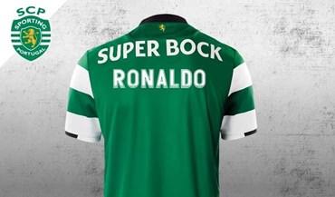 Sporting já preparou camisola para Ronaldo