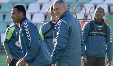 Couceiro já prepara as tropas para enfrentar Sporting