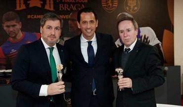 V. Setúbal-Sporting: Pedro Proença juntou presidentes em Braga