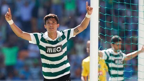 Montero treinou pela primeira vez nesta quinta-feira — Sporting