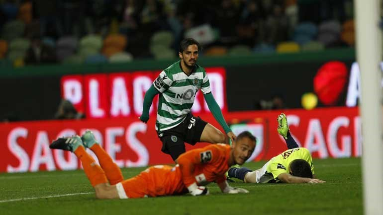 Resultado final: Sporting-Marítimo, 5-0