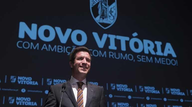 Júlio Vieira de Castro apresentou candidatura à presidência do V. Guimarães