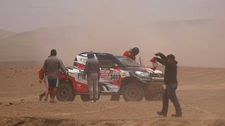 André Villas-Boas abandona rali Dakar