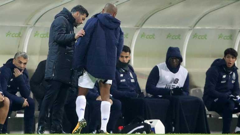 Brahimi e Marega em treino de recuperação — FC Porto