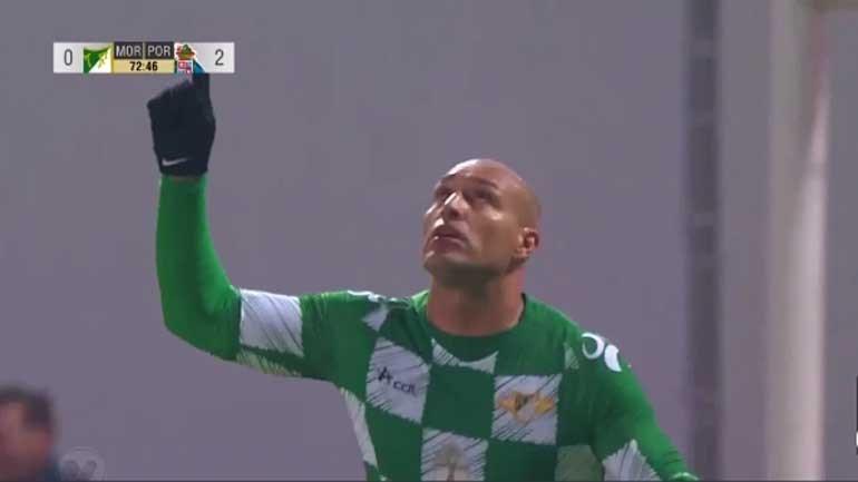 Edno estreou-se a marcar e recolocou o Moreirense na luta