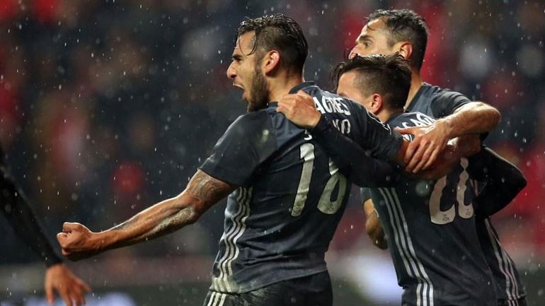Resultado Final: SC Braga-Benfica, 1-3