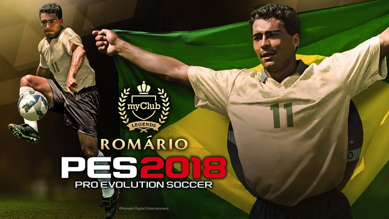 Romário está disponível no modo MyClub por tempo limitado em PES 2018