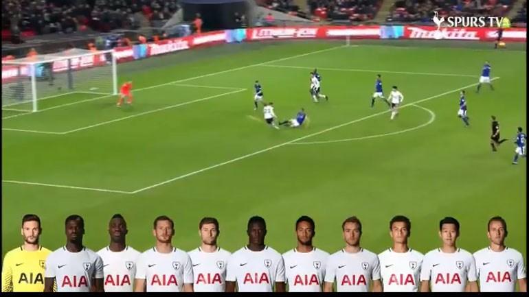 Uma maravilha: golo do Tottenham passou por todos os jogadores