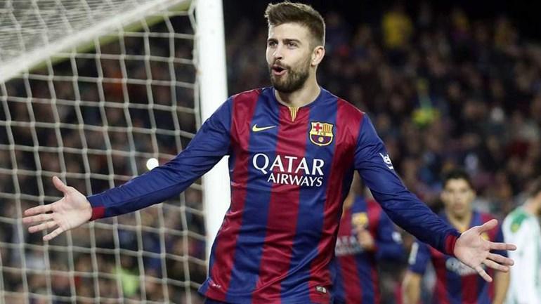 Piqué renova com Barça com cláusula milionária — OFICIAL