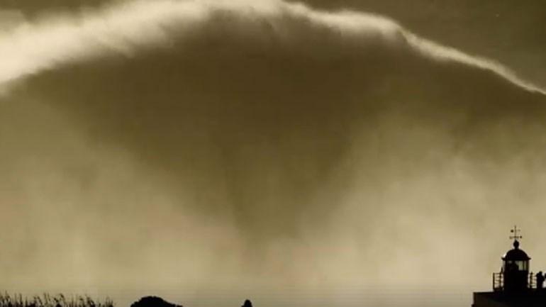 Na Nazaré já dizem que esta foi a maior onda alguma vez surfada
